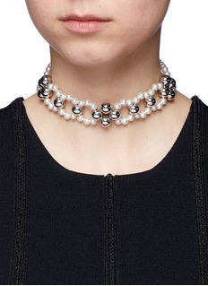 Joomi Lim 'Love At First Sight' Swarovski pearl necklace