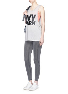 Ivy Park The I' logo waist low rise performance 3/4 leggings