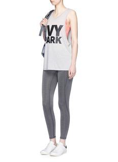 Ivy Park The I' logo waist low rise performance 3/4 leggings