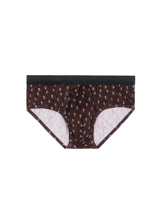 Main View - Click To Enlarge - Dolce & Gabbana - 'Brando' dot print cotton briefs