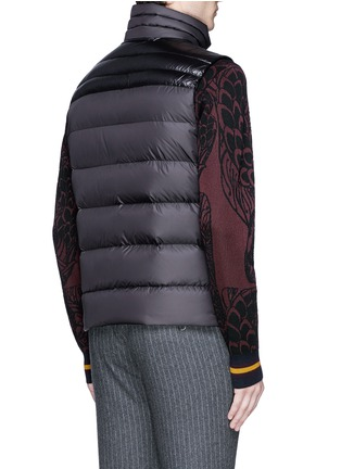 Back View - Click To Enlarge - Moncler - 'Dupres' quilted down vest