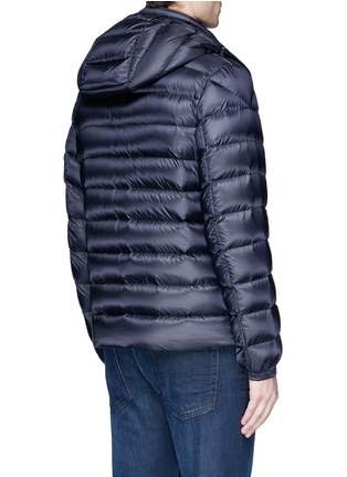 Back View - Click To Enlarge - Moncler - 'Valence' detachable hood puffer down jacket