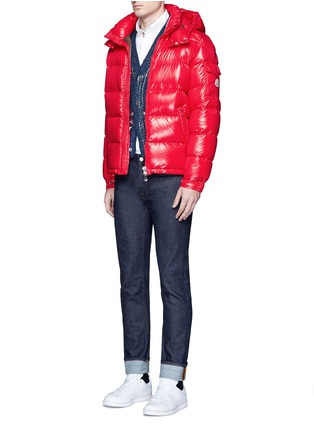 Moncler - 'Maya' lacquered down puffer jacket