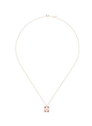 首图 - 点击放大 - BAO BAO WAN - 小小系列福字红包18K玫瑰金项链