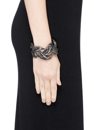 Figure View - Click To Enlarge - Valentino - Feather cuff