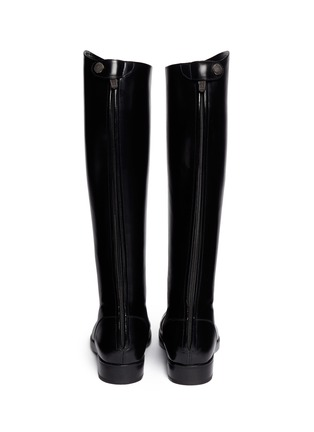 Back View - Click To Enlarge - ALBERTO FASCIANI - 'Oxana' leather equestrian boots