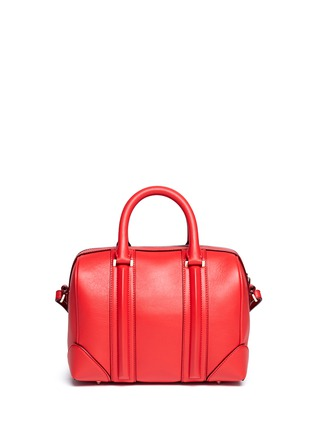 Back View - Click To Enlarge - Givenchy - Lucrezia mini leather duffle