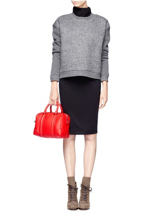 Figure View - Click To Enlarge - Givenchy - Lucrezia mini leather duffle