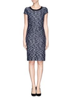 ST. JOHNLurex bouclé  knit sheath dress