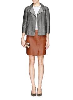 ARMANI COLLEZIONIArrow jacquard zip jacket