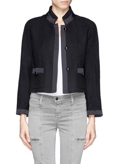 ARMANI COLLEZIONIWool blend tweed jacket