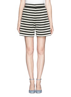 CHLOÉ High waist stripe shorts