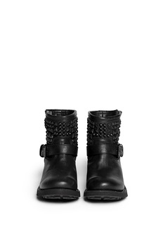 ASH 'Theorem' stud leather ankle boots