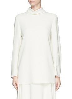 THE ROW'Liero' keyhole collar blouse