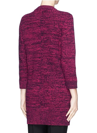 Back View - Click To Enlarge - THAKOON - High-low hem merino wool sweater