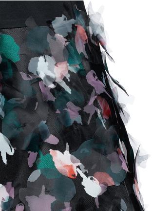 Detail View - Click To Enlarge - TANYA TAYLOR - 'Carolina' floral print washi organza dress