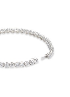 LC COLLECTION JEWELLERY Diamond 18k white gold tennis bracelet