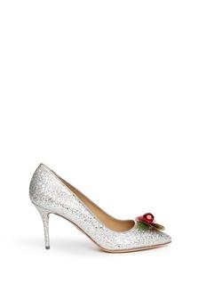 CHARLOTTE OLYMPIADesirée embellished glitter pumps