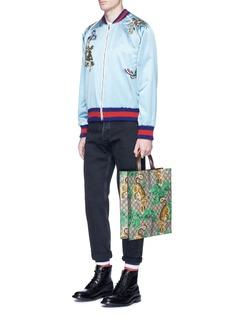 GucciBengal tiger print GG Supreme canvas tote bag