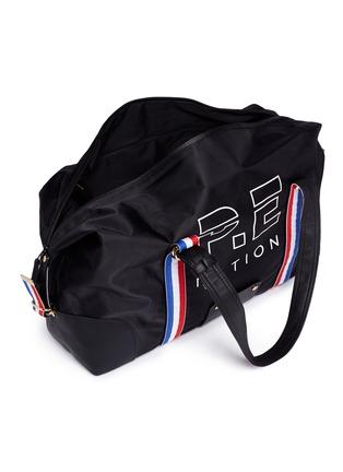 - P.E Nation - 'Sports' grosgrain stripe duffle bag