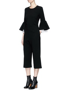 macgraw 'Esquire' cropped crepe pants