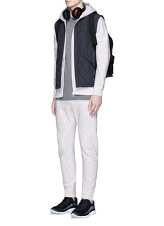 Adidas X Wings + Horns Triple stripe embroidered bonded pants