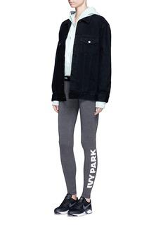 Ivy Park Logo print full length leggings
