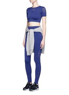Ivy ParkKeyhole cutout full length performance leggings