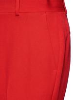 Wool grain de poudre pants