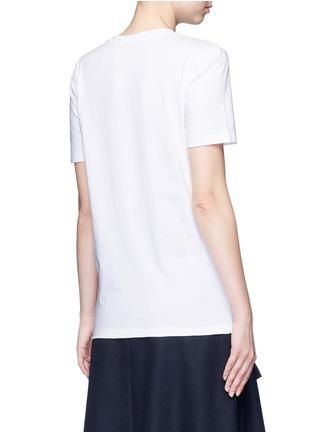Back View - Click To Enlarge - Etre Cecile  - 'Champ Élysées' foil slogan print T-shirt