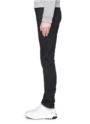 Detail View - Click To Enlarge - Balenciaga - Stretch cotton gabardine pants
