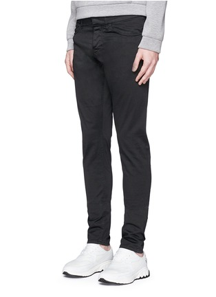 Front View - Click To Enlarge - Balenciaga - Stretch cotton gabardine pants
