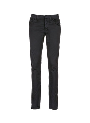 Main View - Click To Enlarge - Balenciaga - Stretch cotton gabardine pants
