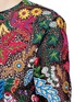 Detail View - Click To Enlarge - Valentino - 'Water Song' floral embroidery macramé lace top