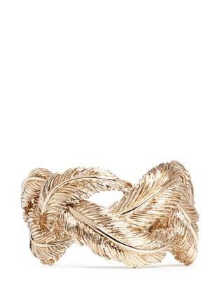 Main View - Click To Enlarge - Valentino - Feather cuff