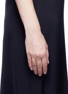 REPOSSI'Antifer' diamond 18k rose gold ring
