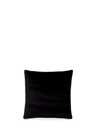 - Silken Favours - Sheep print silk cushion