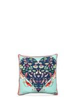 Koi Carp print silk cushion