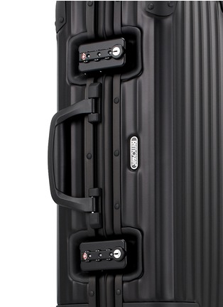 Detail View - Click To Enlarge - RIMOWA - Topas Stealth Cabin Multiwheel® IATA (Black, 32-litre)