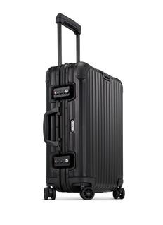 RIMOWA Topas Stealth Cabin Multiwheel® IATA (Black, 32-litre)