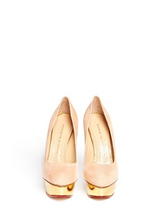CHARLOTTE OLYMPIA Dolly platform pumps