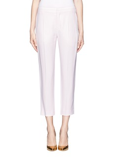 CHLOÉ Cropped cady pants