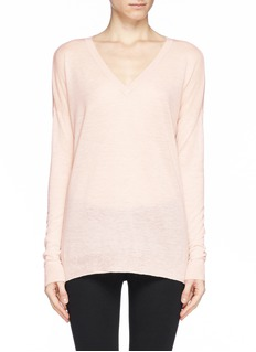 VINCEFeatherweight wool-cashmere sweater