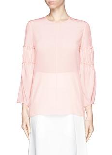 CHLOÉSilk ruffle blouse