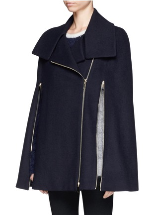 Front View - Click To Enlarge - Stella McCartney - Cape coat