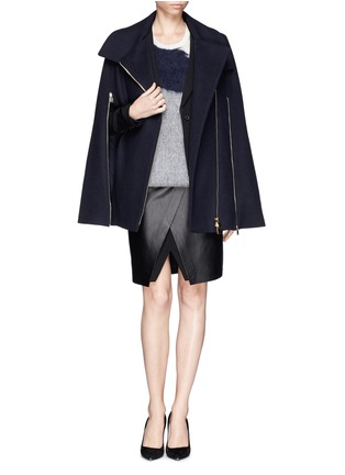 Figure View - Click To Enlarge - Stella McCartney - Cape coat