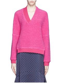 THAKOONTwist front neckline textured sweater