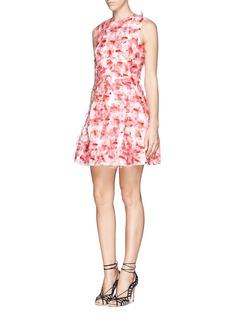 TANYA TAYLOR'Hannah' floral organza dress