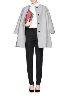 VICTORIA BECKHAMBarathea zip cuff tailored pants