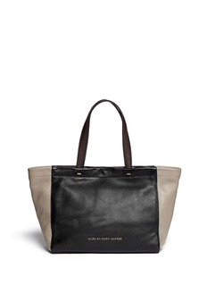 MARC BY MARC JACOBS'What's the T' colourblock leather tote
